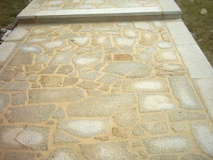 Granite cladding stones