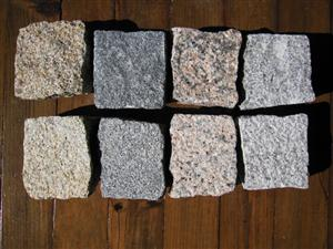 granite setts from Portugal